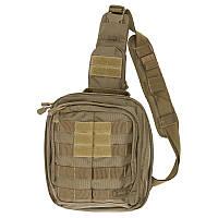 """Сумка-рюкзак тактическая """"5.11 Tactical RUSH MOAB 6""""   Sandstone, фото 1"""