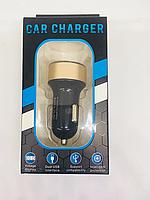 Автомобильная зарядка 12v 2 usb