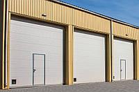 Промышленные ворота DoorHan с калиткой 4000х3000 мм, фото 1