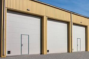 Промышленные ворота DoorHan с калиткой 4000х3000 мм