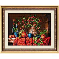"""Алмазная вышивка размер изображения 39×31 - набор """"Осенний натюрморт"""""""