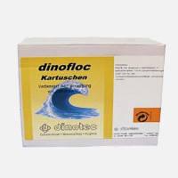 Dinoflock Kartushen (8х125 г) подушечки 1 кг. Препарат для коагуляции взвешенных частиц и их осаждения