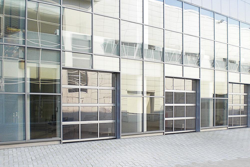Панорамные промышленные ворота DoorHan 4250х3000 мм