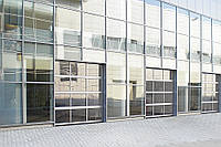 Панорамные промышленные ворота DoorHan 4250х3000 мм, фото 1