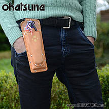 Кобура Okatsune / Окацуне 130 подвійна для секаторів та складеної пили, фото 2