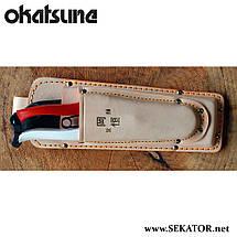 Кобура Okatsune 130 подвійна для секаторів та складеної пили , фото 2