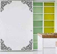 Интерьерные наклейки на мебель, стены - размер всей наклейки 25*60см