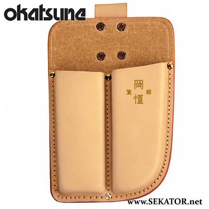 Кобура Okatsune 109 подвійна для секаторів та складеної пили, фото 2