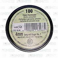 Патроны Флобера 4,0 мм Германия Dynamit Nobel 100 шт/уп