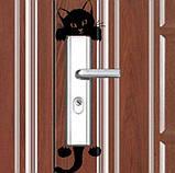 """Виниловая наклейка на выключатель """"Кот""""  - размер наклейки 15*6см, (распределяете на свое усмотрение), фото 2"""