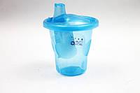 Поилка-чашка 210 мл, синяя, LI744