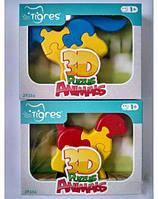 Игрушка развивающая Тигрес 3D пазлы 1 шт 8 эл Животные, 39356, 007100, фото 1