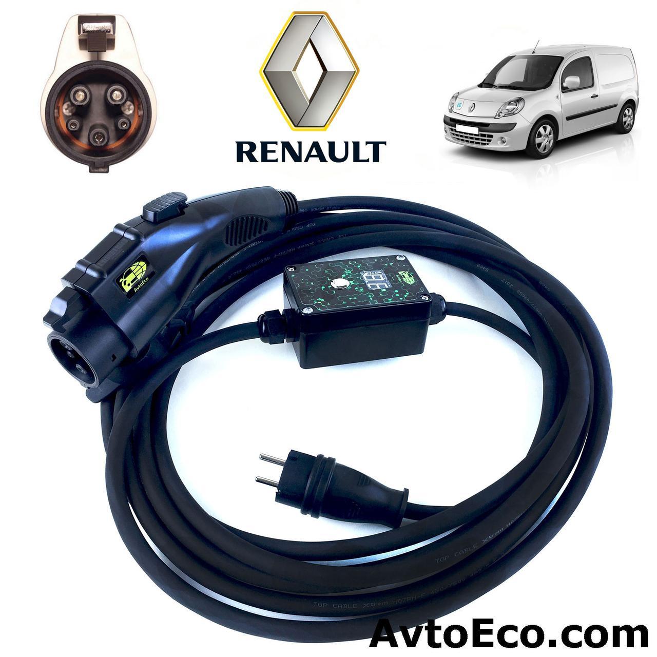 Зарядное устройство для электромобиля Renault Kangoo ZE AutoEco J1772-16A-BOX