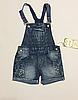 Комбинезон-шорты для девочек 4-6 лет