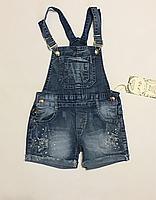 Комбинезон-шорты для девочек 4-6 лет, фото 1