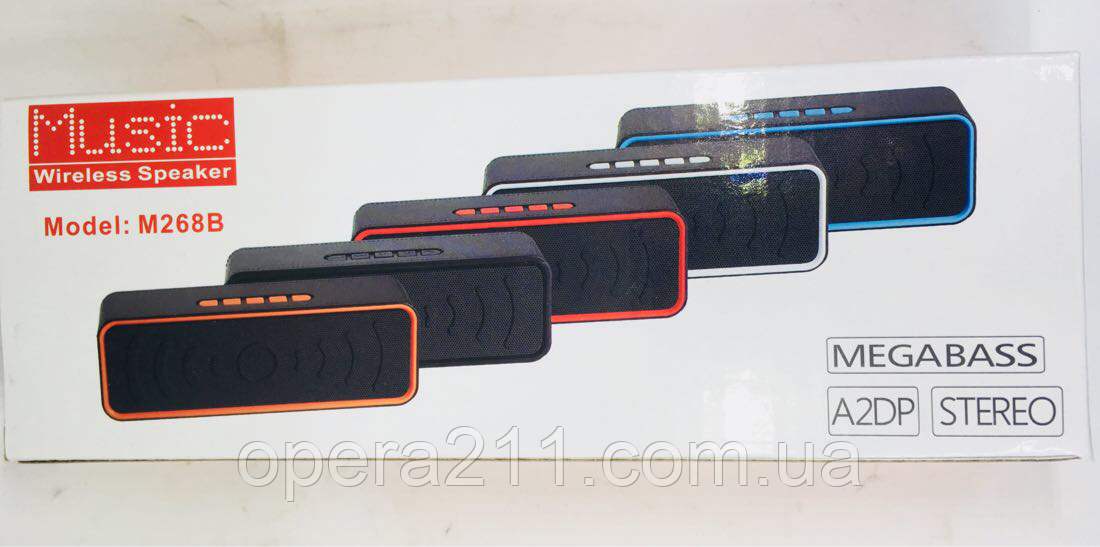 Портативная колонка Bluetooth M268
