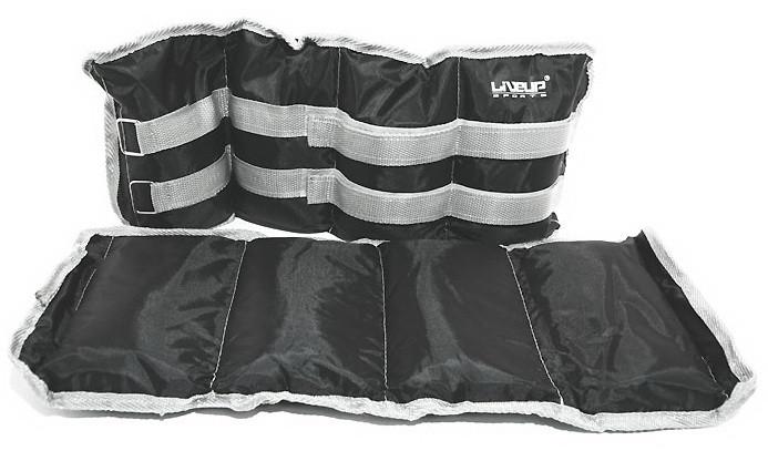 Утяжелитель 3 кг «LiveUp» LS3011-3 WRIST/ANKLE WEIGHT