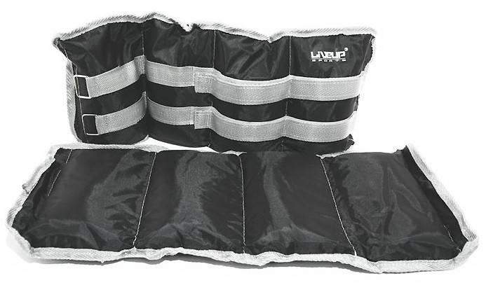 Утяжелитель 3 кг «LiveUp» LS3011-3 WRIST/ANKLE WEIGHT, фото 2