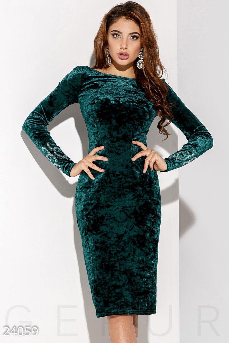 1d344271715cfa6 Бархатное платье камни, цена 660 грн., купить в Мариуполе — Prom.ua ...