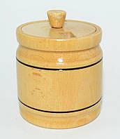 Бочонок для меда, специй, 150 мл