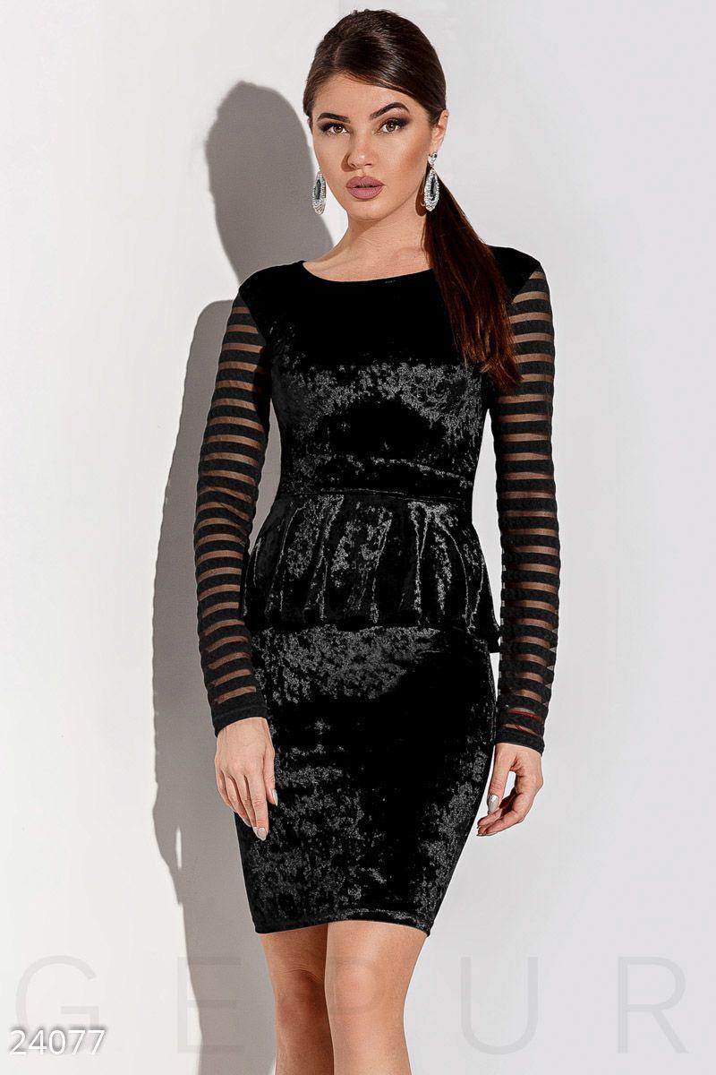 5a397360dfb Элегантное платье баска - Интернет-магазин одежды ТОПШОП в Мариуполе