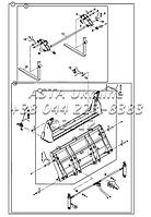 Ковш и Крепления для экскаватора-погрузчика Hidromek 102B, фото 1