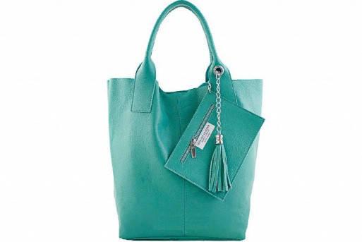 Кожаная сумка Кристина. Италия