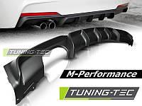 Диффузор заднего бампера тюнинг обвес М-Performance для BMW F30