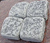 Галтованная брусчатка из гранита (габбро) 10х10х5 см
