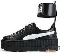 Женские кроссовки Puma Rihanna x Puma Fenty Ankle Strap Sneaker Black 6e5e98cd74b03