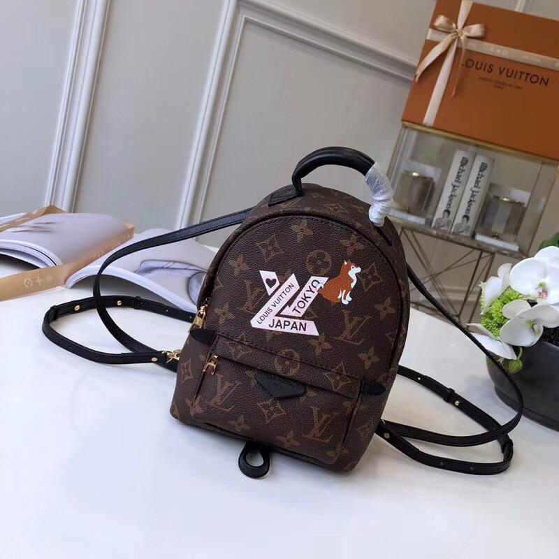 5fbc88097212 Рюкзак Louis Vuitton - Palm Springs mini, цена 3 800 грн., купить в ...