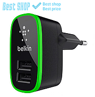 СЗУ Belkin 2USB 2.1A F8M670krBLK