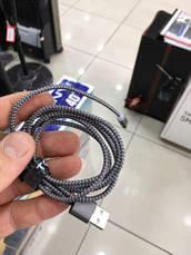 TOPK Магнитный кабель зарядной micro usb с led подсветкой iphone, samsung, фото 3