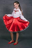 Спідничка до вишиванки Суничка Р. 134, 140, фото 1