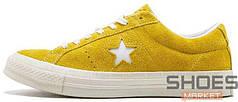 Женские кроссовки Converse X Tyler the Creator One Star Yellow 159435C-35, Конверс Ван Стар
