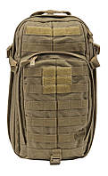 """Сумка-рюкзак тактическая """"5.11 Tactical RUSH MOAB 10""""  Sandstone, фото 1"""