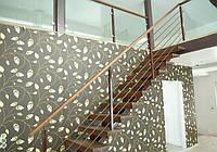 В дом или квартиру. Изготовление на заказ. Лестница на второй этаж.