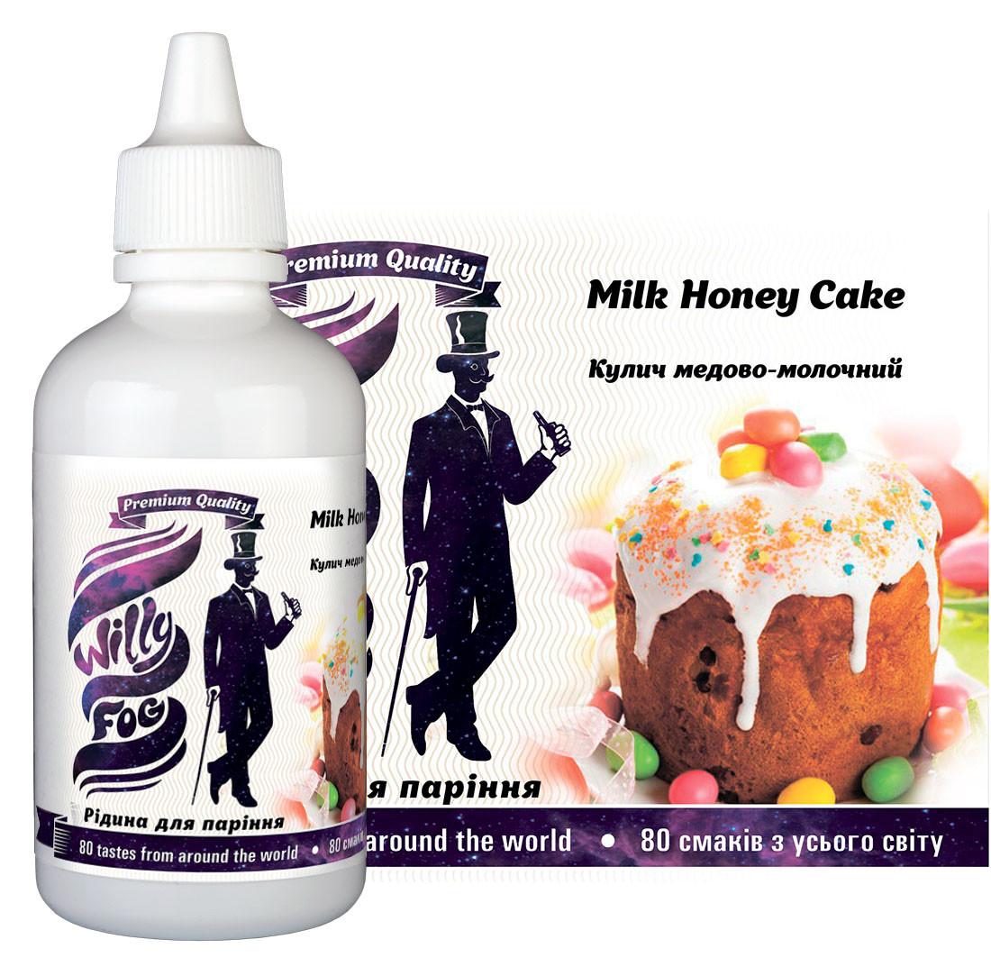 Рідина для паріння Milk Honey Cake 100ml