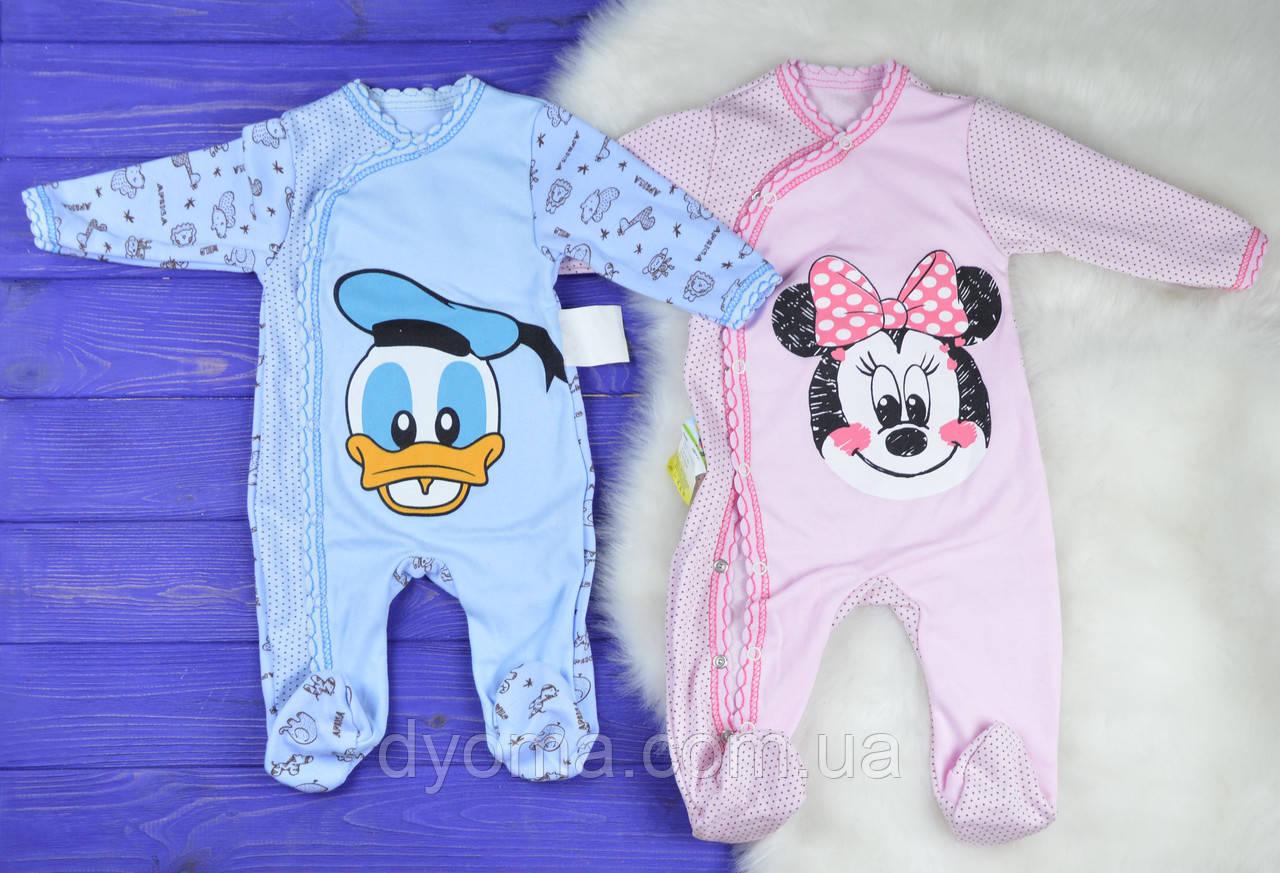 """Детский человечек """"Disney"""" для новорожденных"""