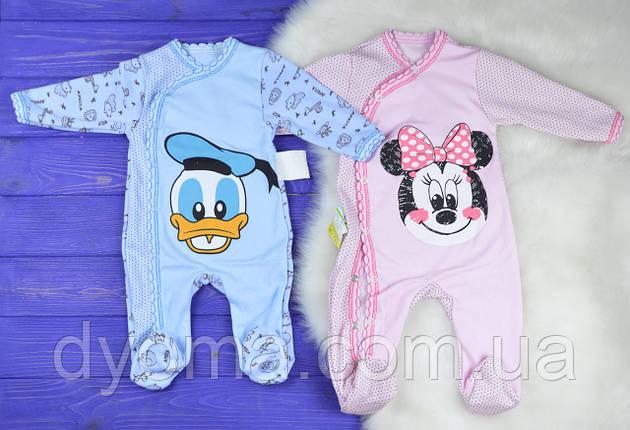 """Детский человечек """"Disney"""" для новорожденных, фото 2"""