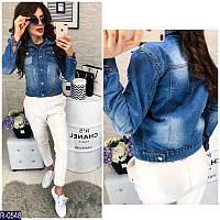 Пиджак джинсовый R-0548но