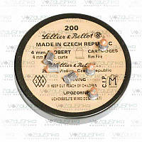 Патроны флобера 4,0 мм Чехия Sellier Bellot 200 шт/уп