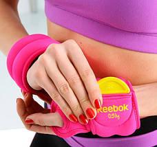 Утяжелители для рук 0,5 кг Reebok Thumblock RAWT-11070MG, фото 2