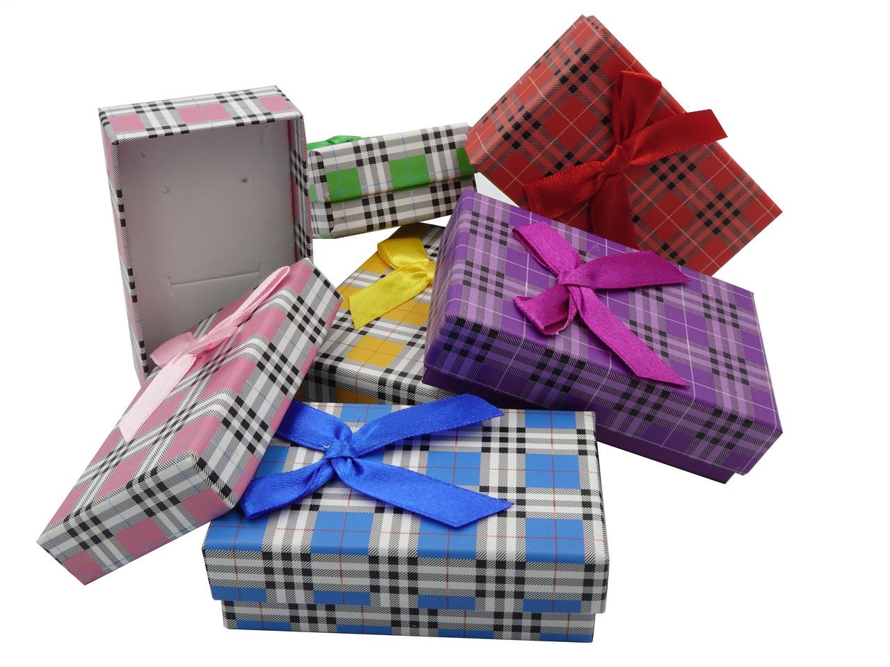 Подарочная коробочка для комплекта Клетка 8*5*3 см
