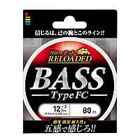 Флюорокарбон Gosen Bass Type FC 80м №1.25 (диаметр 0,185 мм)