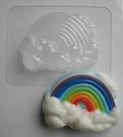 Пластиковая форма для мыла Радуга