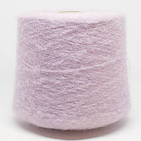 Пряжа Rouge, розовый с сиреневой ноткой (37% супер кид мохер, 37% беби альпака, 26% ПА; 1500 м/100 г)