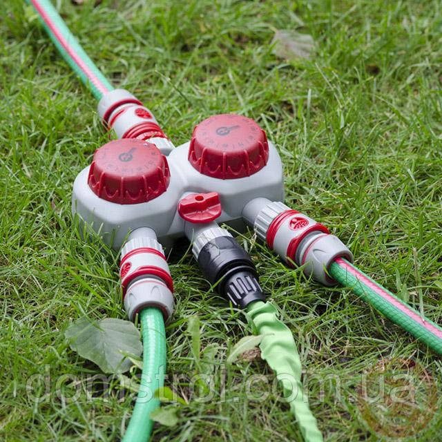 Таймер для подачи воды с 2-х канальным распределением