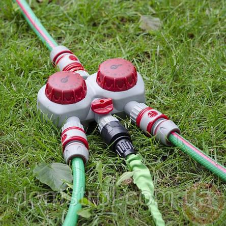 Таймер для подачи воды с 2-х канальным распределением, фото 2