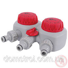 Таймер для подачи воды с 2-х канальным распределением, фото 3